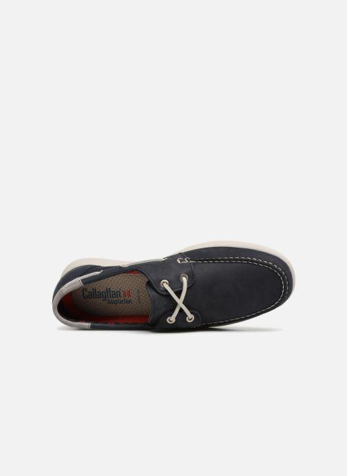 Zapatos con cordones Callaghan WAVELINE Azul vista lateral izquierda