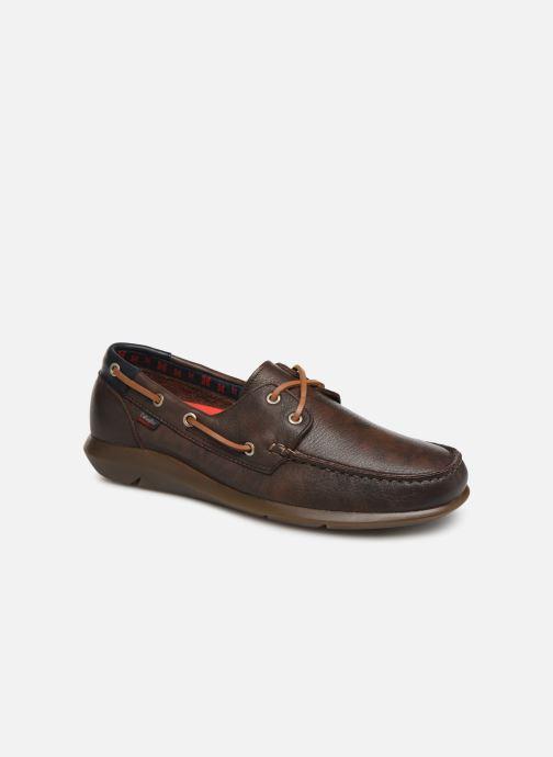 Snøresko Callaghan WAVELINE Brun detaljeret billede af skoene
