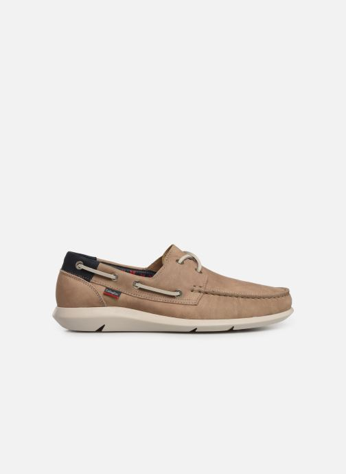 Lace-up shoes Callaghan WAVELINE Beige back view