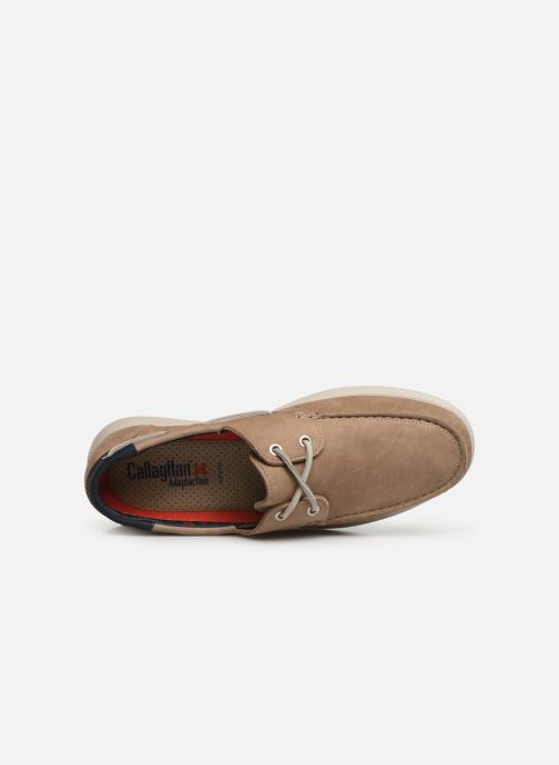 Lace-up shoes Callaghan WAVELINE Beige view from the left