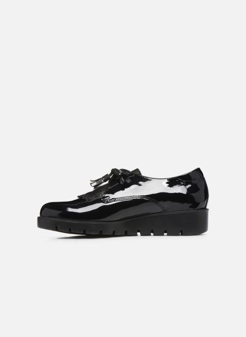 Zapatos con cordones Callaghan Haman Negro vista de frente