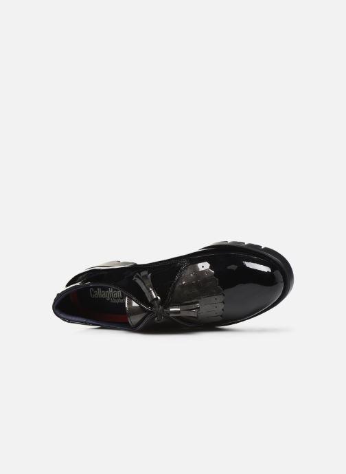 Zapatos con cordones Callaghan Haman Negro vista lateral izquierda