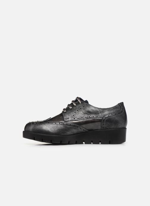 Zapatos con cordones Callaghan Haman Gris vista de frente
