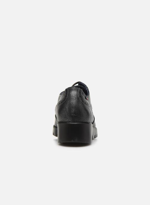 Zapatos con cordones Callaghan Haman Gris vista lateral derecha