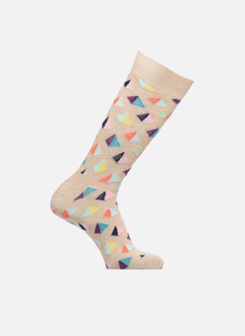 Chaussettes et collants Happy Socks Chaussettes Pyramide Beige vue détail/paire