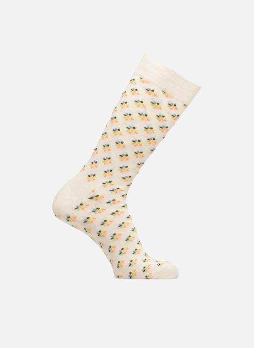 Chaussettes et collants Happy Socks Chaussettes Mini Flower Blanc vue détail/paire