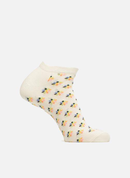 Sokken en panty's Happy Socks Low Mini Flower Wit detail
