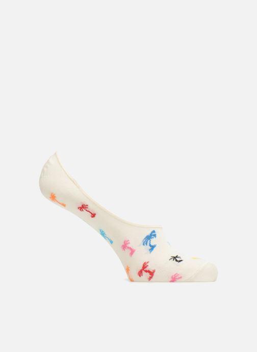 Chaussettes et collants Happy Socks Liner Palm Trees Blanc vue détail/paire