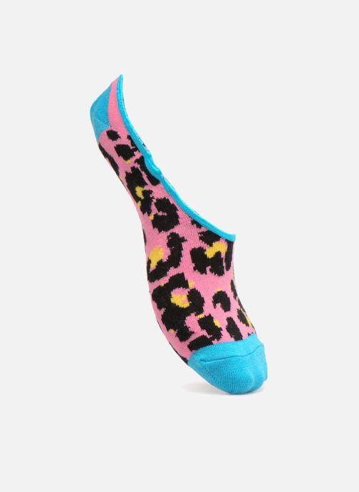 Strumpor och strumpbyxor Happy Socks Liner Leo Rosa detaljerad bild på paret