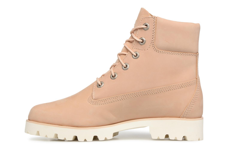 Bottines et boots Timberland Heritage Lite 6in Boot Beige vue face
