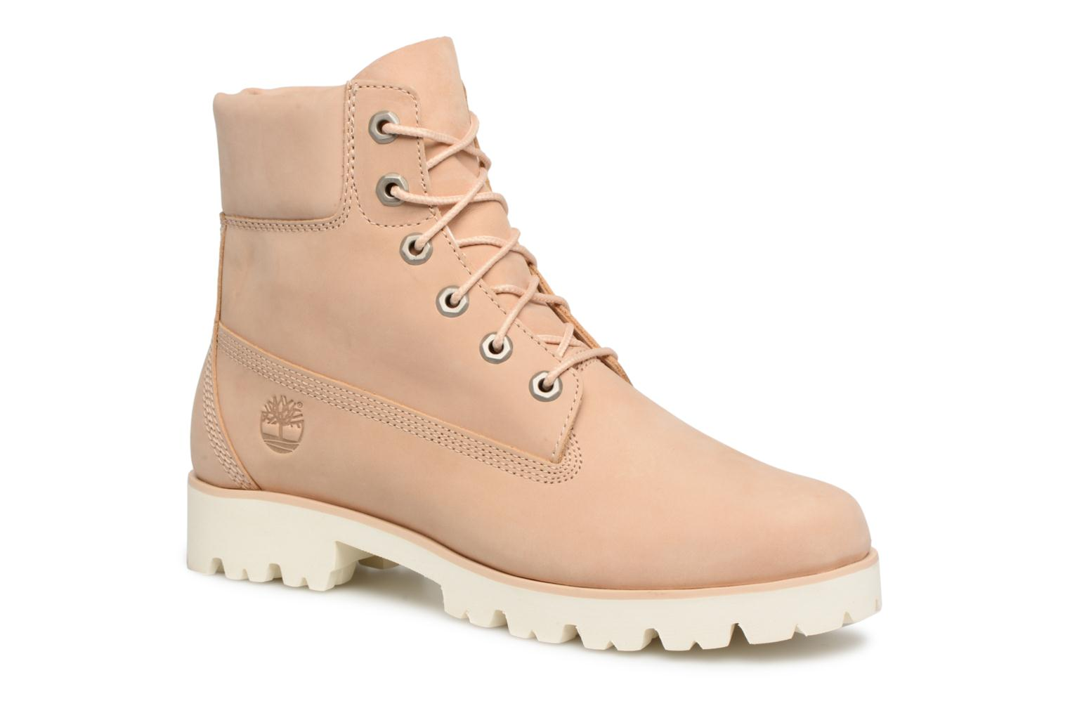 Bottines et boots Timberland Heritage Lite 6in Boot Beige vue détail/paire