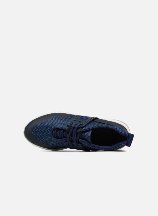 Baskets Timberland Kiri New Lace Oxford Bleu vue gauche