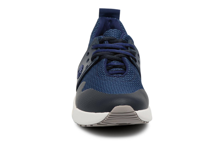 Baskets Timberland Kiri New Lace Oxford Bleu vue portées chaussures