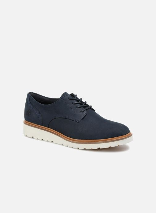 4b6cf4fe5089 Chaussures à lacets Timberland Ellis Street Lace Up Bleu vue détail paire