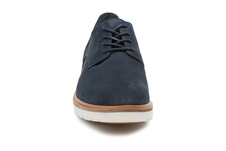 Chaussures à lacets Timberland Ellis Street Lace Up Bleu vue portées chaussures