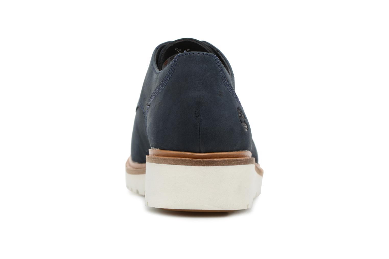 Chaussures à lacets Timberland Ellis Street Lace Up Bleu vue droite