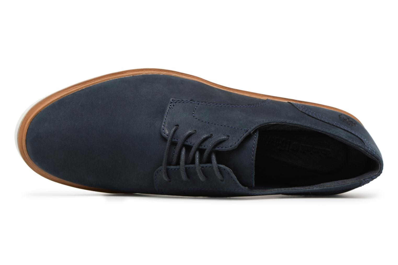 Chaussures à lacets Timberland Ellis Street Lace Up Bleu vue gauche