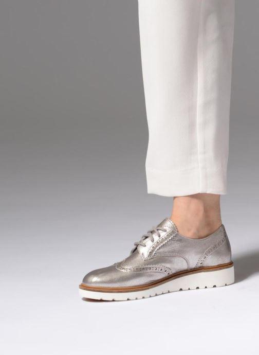 Zapatos con cordones Timberland Ellis Street Oxford Plateado vista de abajo