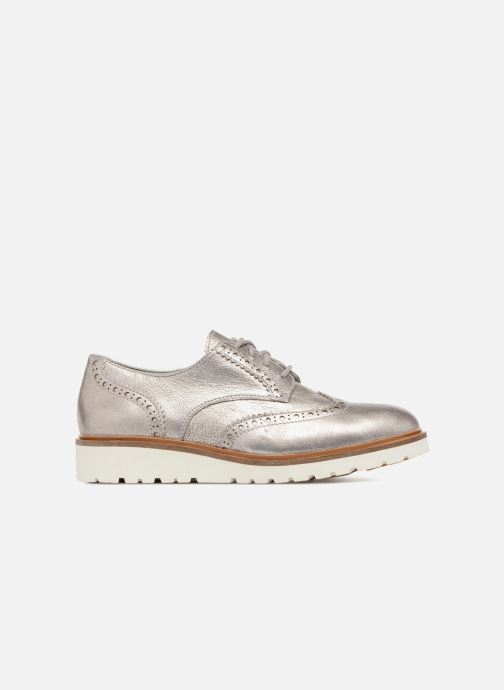 Zapatos con cordones Timberland Ellis Street Oxford Plateado vistra trasera