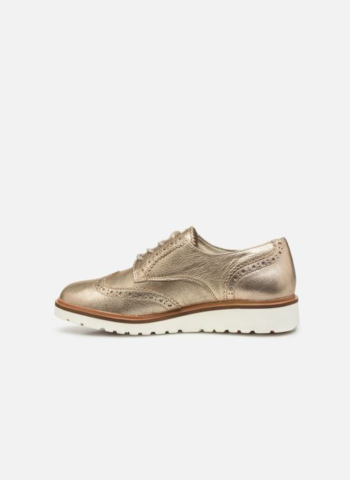 Chaussures à lacets Timberland Ellis Street Oxford Rose vue face
