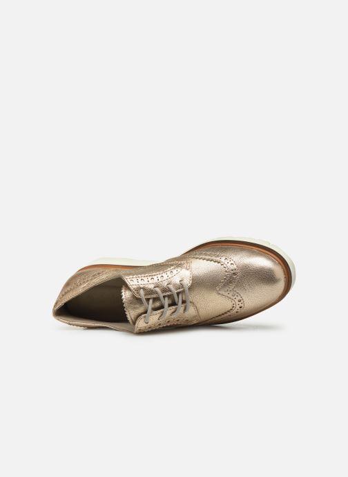 Scarpe con lacci Timberland Ellis Street Oxford Rosa immagine sinistra