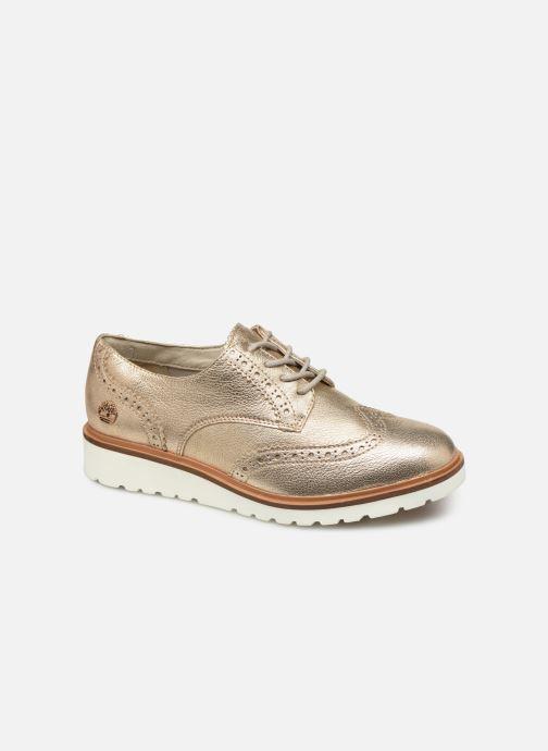 Snøresko Timberland Ellis Street Oxford Pink detaljeret billede af skoene