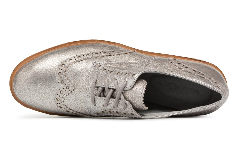 Chaussures à lacets Timberland Ellis Street Oxford Argent vue gauche
