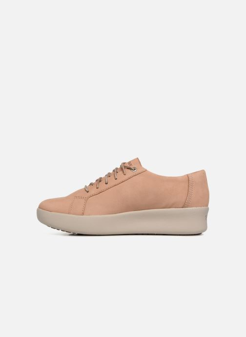 Chaussures à lacets Timberland Berlin Park Oxford Beige vue face