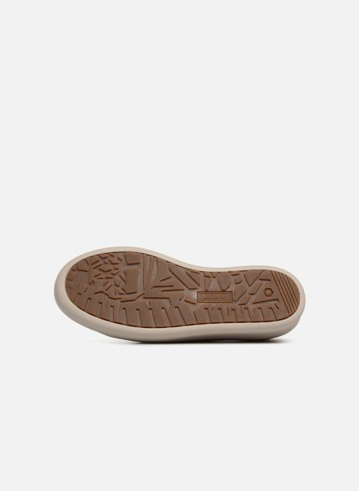 Chaussures à lacets Timberland Berlin Park Oxford Beige vue haut