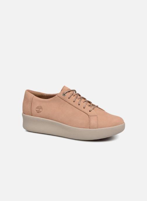 bfc1ae2b209 Chaussures à lacets Timberland Berlin Park Oxford Beige vue détail paire