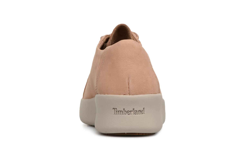 Chaussures à lacets Timberland Berlin Park Oxford Beige vue droite