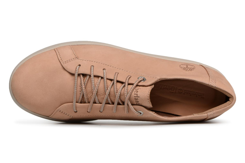 Chaussures à lacets Timberland Berlin Park Oxford Beige vue gauche