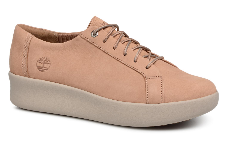Chaussures à lacets Timberland Berlin Park Oxford Beige vue détail/paire