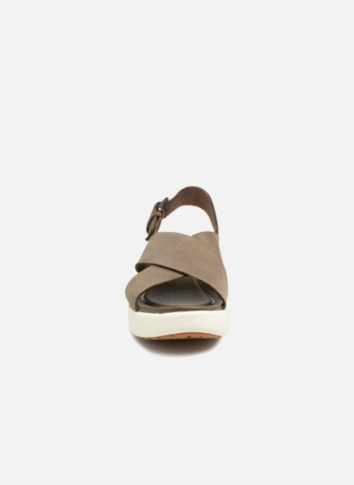 Sandales et nu-pieds Timberland Los Angeles Wind Slingbac Vert vue portées chaussures
