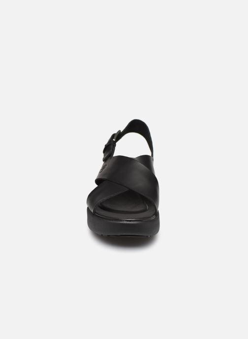 Sandales et nu-pieds Timberland Los Angeles Wind Slingbac Noir vue portées chaussures