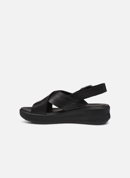 Sandales et nu-pieds Timberland Los Angeles Wind Slingbac Noir vue face