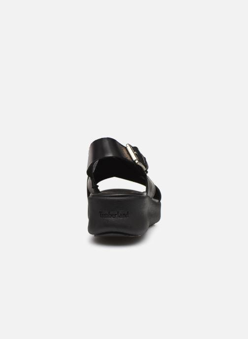 Sandales et nu-pieds Timberland Los Angeles Wind Slingbac Noir vue droite