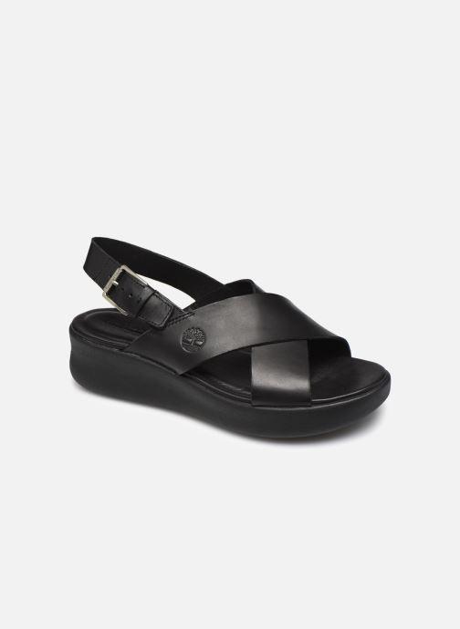 Sandales et nu-pieds Timberland Los Angeles Wind Slingbac Noir vue détail/paire