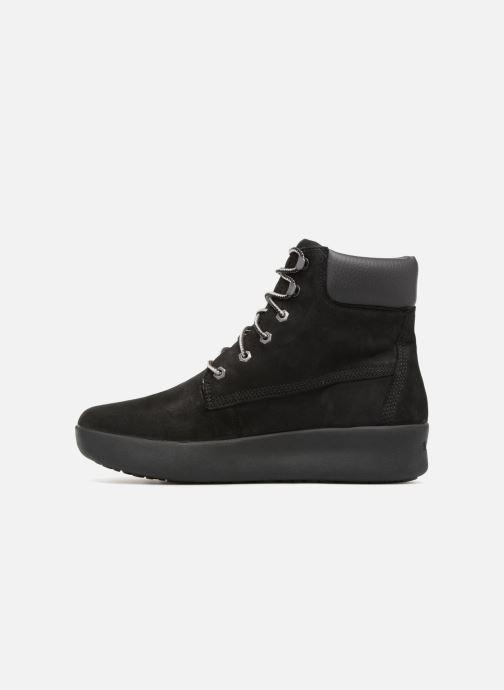 Boots en enkellaarsjes Timberland Berlin Park 6 Inch Zwart voorkant