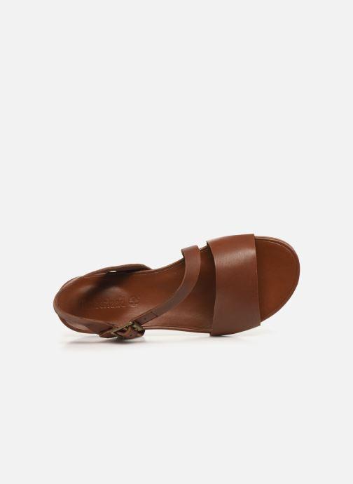 Sandali e scarpe aperte Timberland Cranberry Lake Sandal Marrone immagine sinistra