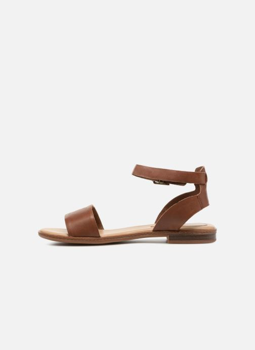 Sandales et nu-pieds Timberland Cherrybrook Sandal Marron vue face