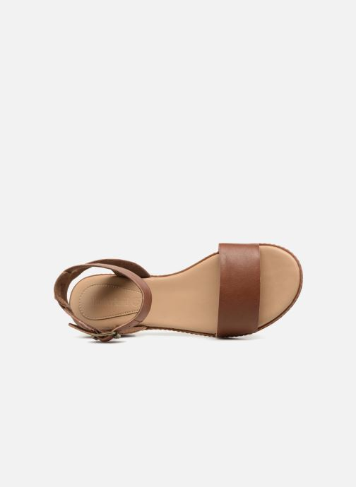 Sandals Timberland Cherrybrook Sandal Brown view from the left
