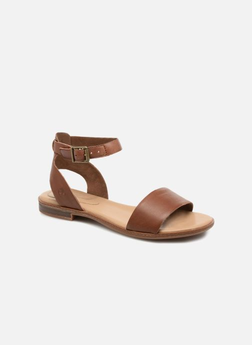 Sandals Timberland Cherrybrook Sandal Brown detailed view/ Pair view