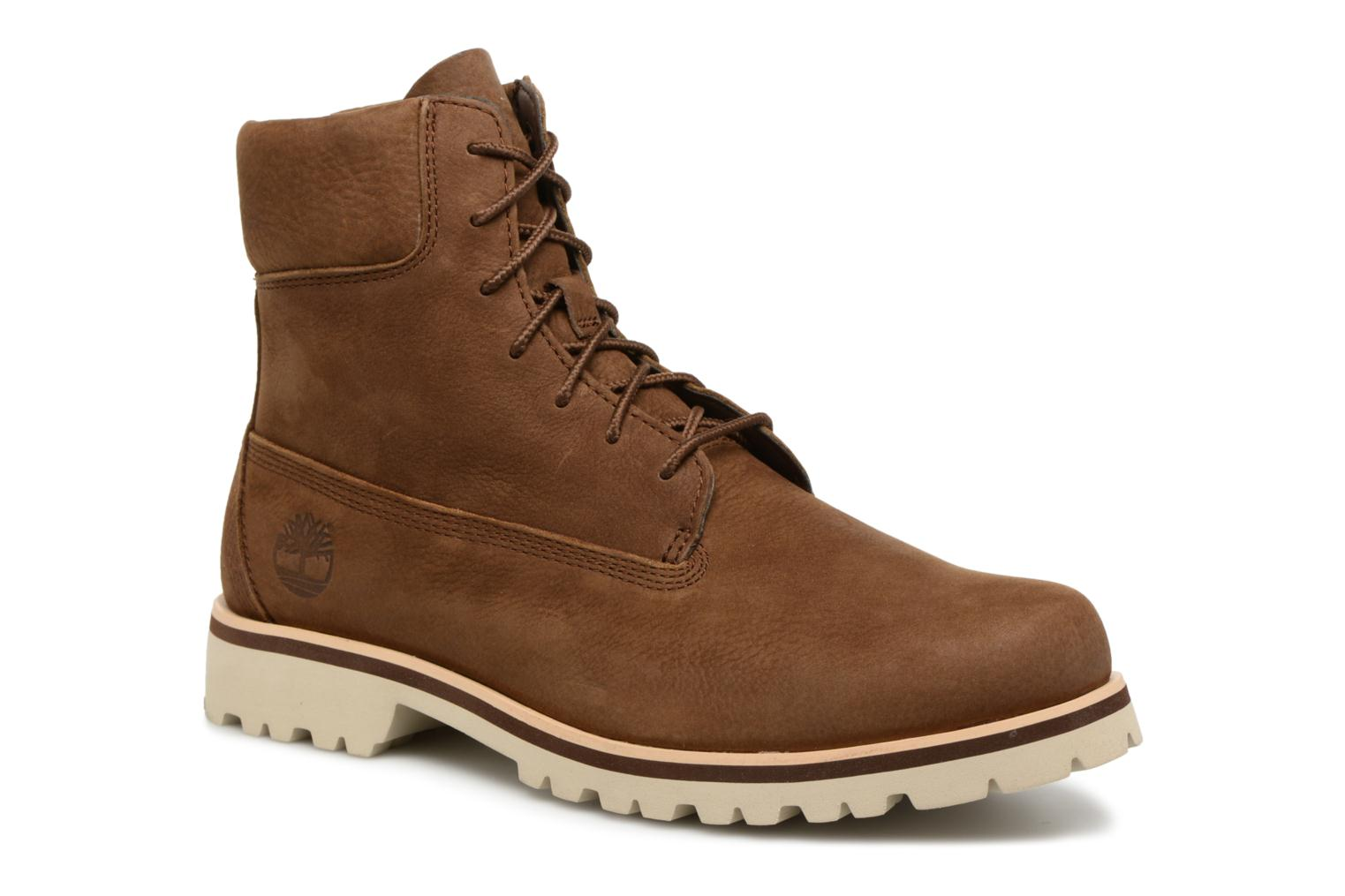 "Bottines et boots Timberland Chilmark 6"" Boot Marron vue détail/paire"