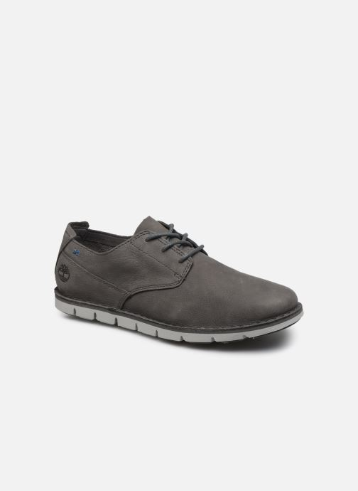 Lace-up shoes Timberland Tidelands Oxford Grey detailed view/ Pair view
