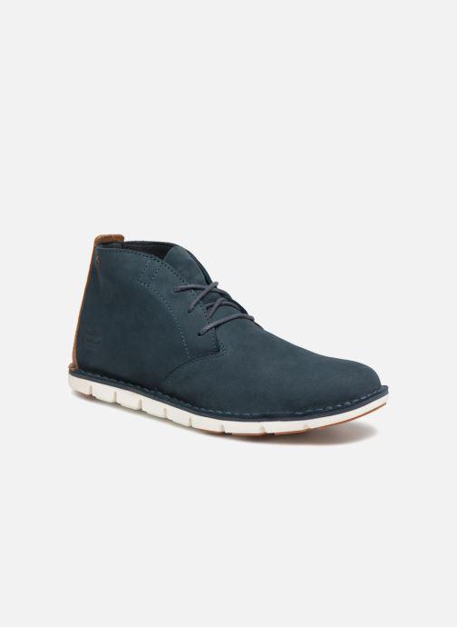 Ankelstøvler Timberland Tidelands Desert Boot Blå detaljeret billede af skoene