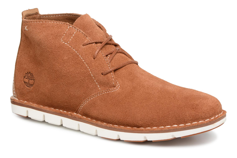 Bottines et boots Timberland Tidelands Desert Boot Marron vue détail/paire