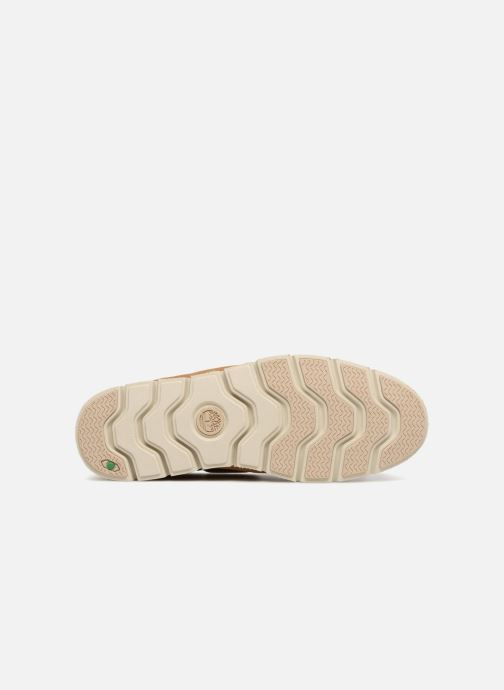 Chaussures à lacets Timberland Tidelands 2 Eye Suede Marron vue haut