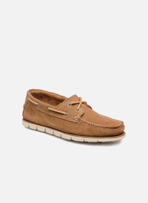 Chaussures à lacets Timberland Tidelands 2 Eye Suede Marron vue détail/paire