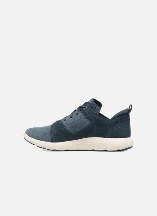 Sneakers Timberland FlyRoam Leather Oxford Azzurro immagine frontale